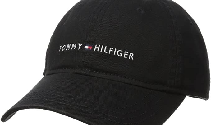 Tommy Hilfiger Men's Logo Dad Baseball Cap