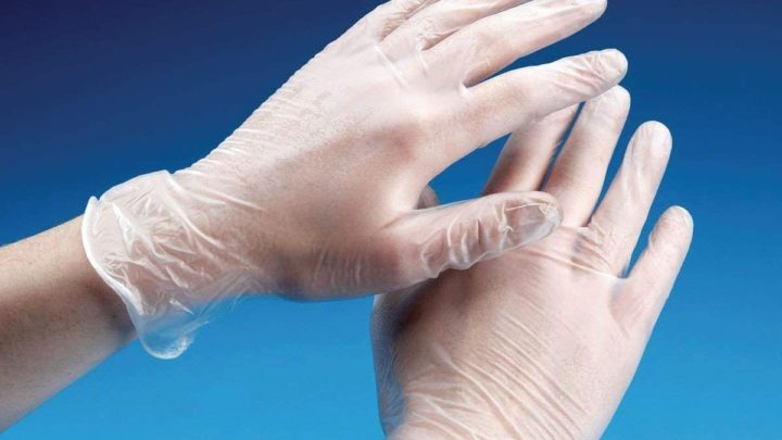 Good Quality Box of 100 Powder - Free Clear Vinyl Gloves Extra Large Size - Easy to Wear