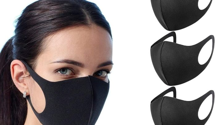 CUQOO 3x Anti Dust Mask Face Mouth Mask, Fashion Reusable Washable