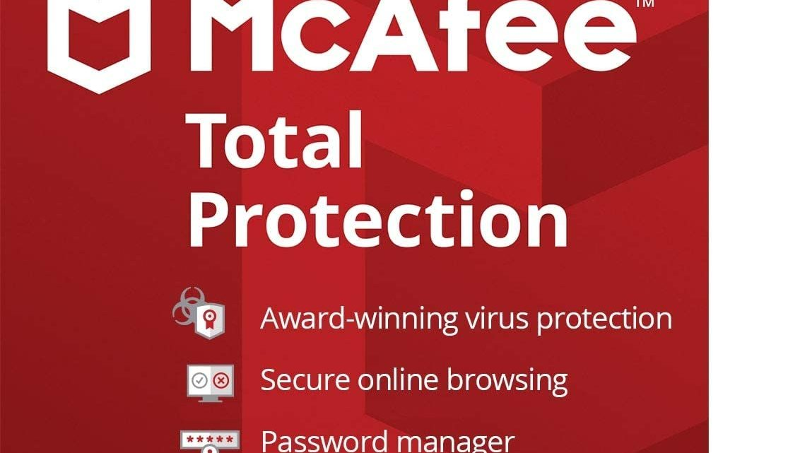 McAfee Total Protection 2020 | 1 Device | 1 Year | Antivirus
