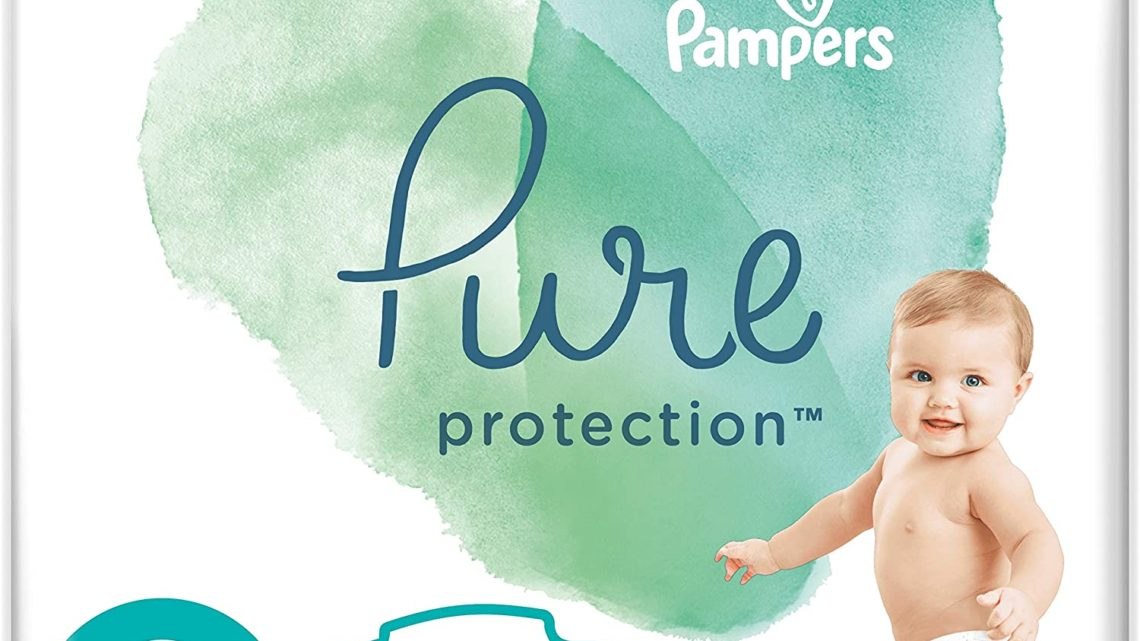 Pampers Pure Protection Size 2, 132 Nappies, 4-8 kg