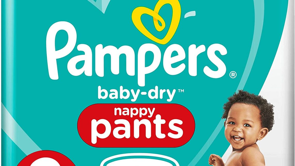 Pampers Baby-Dry Nappy Pants Size 3, 192 Nappy Pants