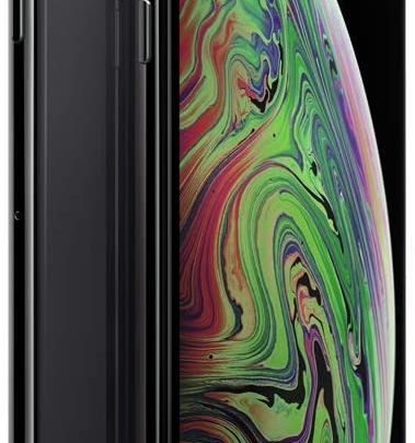 Apple iPhone XS Max 64GB - Space Grey - Unlocked (Renewed)