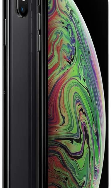Apple iPhone XS Max 64GB - Space Grey - Unlocked (Renewed)