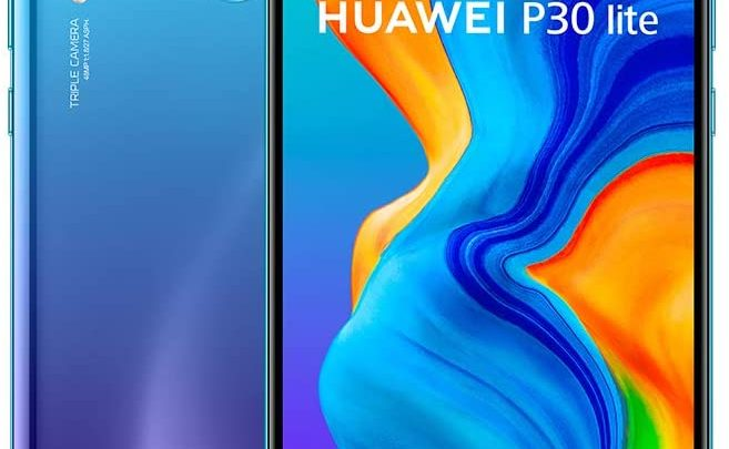 Huawei P30 Lite 128 GB 6.15 inch FHD Dewdrop Display Smartphone with MP AI Ultra-wide Triple Camera, 4GB RAM, Android 9.0 Sim-Free Mobile Phone