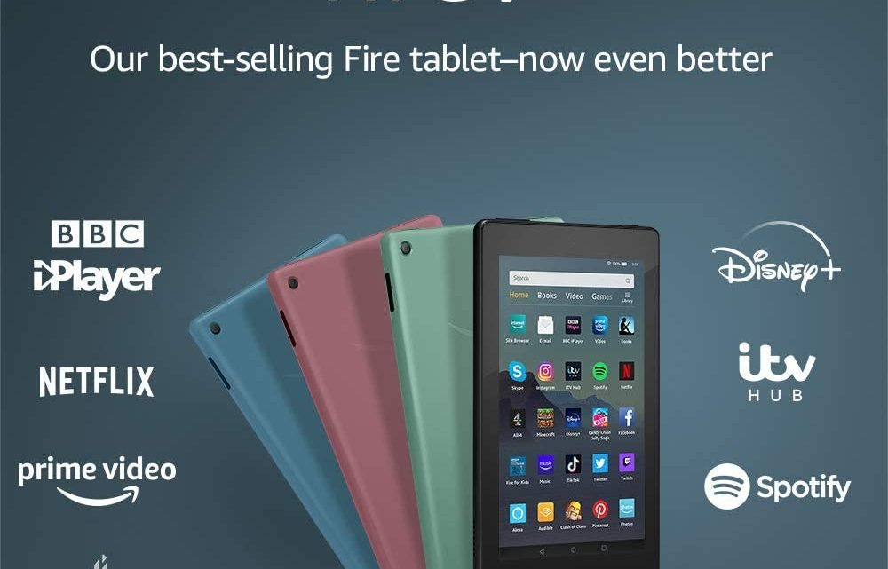 "Fire 7 Tablet | 7"" display, 16 GB, Black with Special Offers"