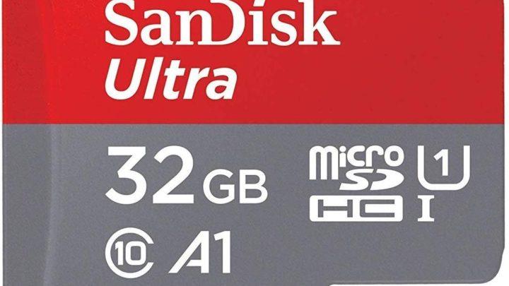 SanDisk Ultra 32 GB microSDHC Memory Card