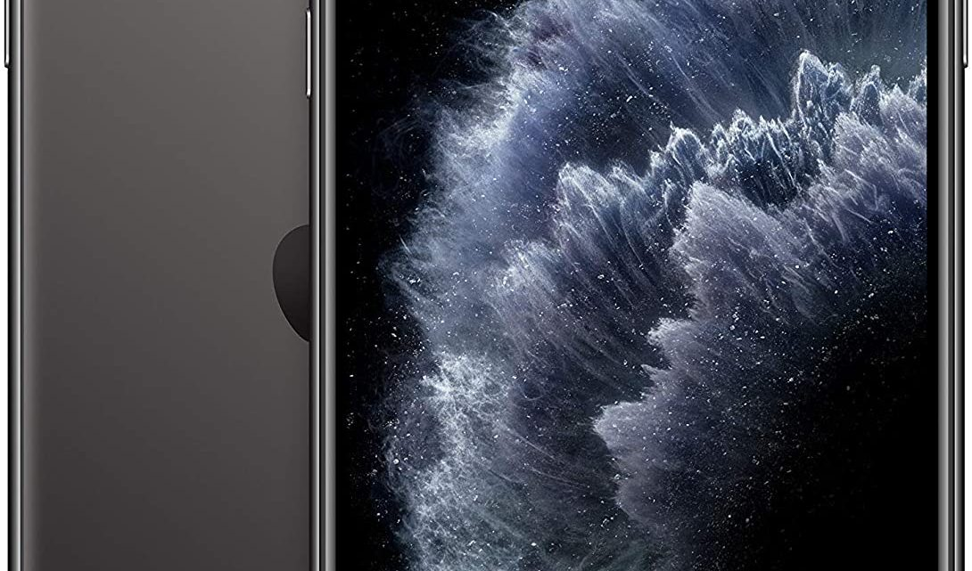 Apple iPhone 11 Pro Max 64GB - Space Grey - Unlocked (Renewed)